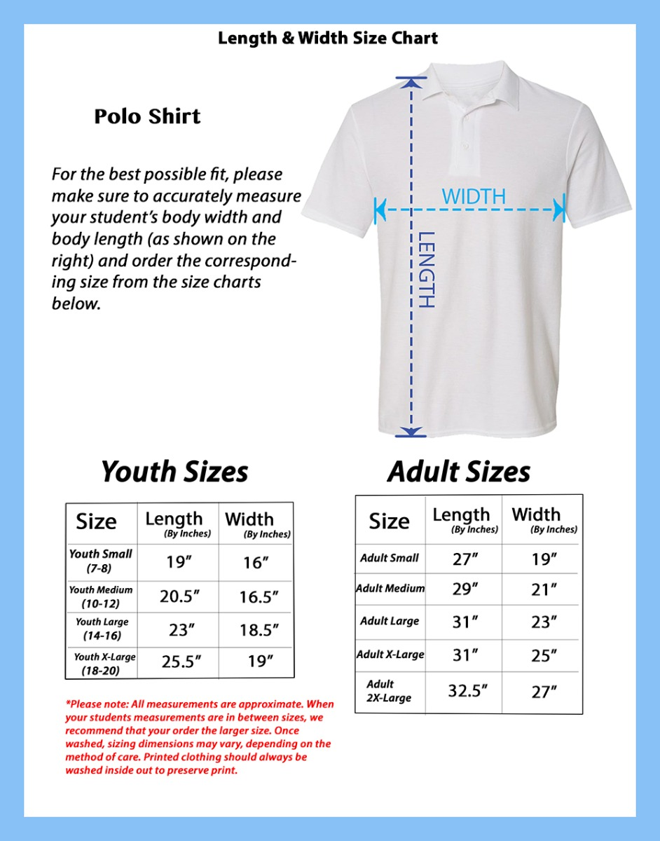 Collins Academy S/S Polo Shirt w/ Logo (Multiple Colors)
